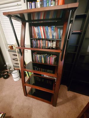 Wooden bookcase/ display case for Sale in Willow Springs, IL