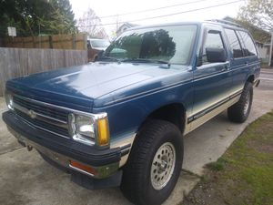 1993 Chevy S10 Blazer 4.3 6 Vortec 165k 4x4 nice rig clean title lifted at for Sale in Gresham, OR