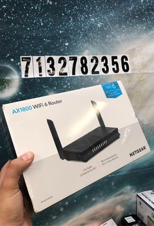 WiFi router booster new for Sale in Houston, TX