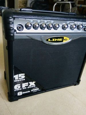 Line 6 Spider IV 15 15W 1x8 Guitar Combo Amp for Sale in Richmond, CA