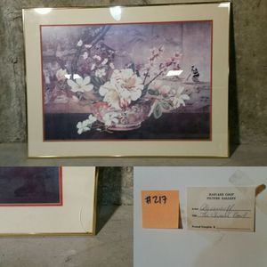 Asian Flower Print for Sale in Concord, MA