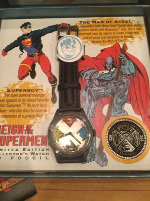 Fossil Superman collectible watch for Sale in West Palm Beach, FL