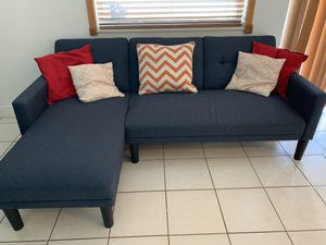 SECTIONAL - COUCH | Deep blue for Sale in Pembroke Pines, FL