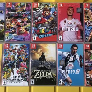 nintendo switch games 10 Games For $200 for Sale in San Diego, CA