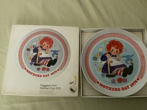 "THE SCHMID COLLECTIONS ""THE RAGGEDY ANN & ANDY PLATE IN ORIGINAL BOX #7 for Sale in Henderson, NV"