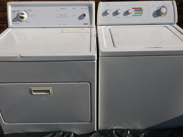 Whirlpool washing machine/ Kenmore clothes dryer