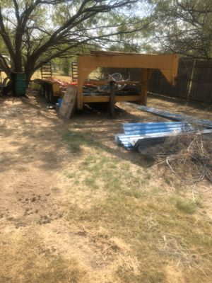 20' Gooseneck Trailer for Sale in Fort Worth, TX