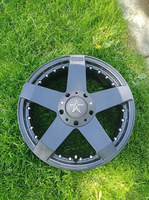 "KMC Rockstar Car Wheels, 17"" x7.5"", 5x100.00 / 5x114.30, +42 for Sale in Bolingbrook, IL"