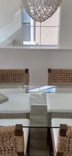 Glass Dining Table/Office Desk for Sale in Ladera Ranch,  CA
