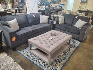 Sofa and Loveseat, Slate for Sale in Garden Grove, CA