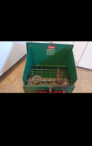Coleman 2- burner liquid fuel stove for Sale in Kent, OH