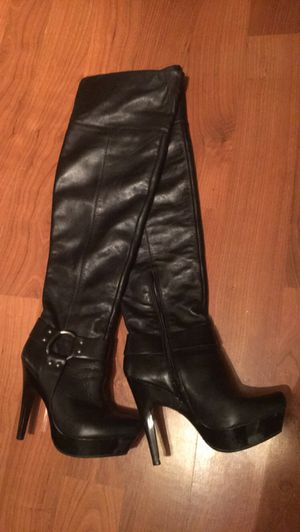 Thigh high boots size 6.5 for Sale in Cleveland, OH