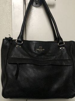 Kate Spade Bag Black leather for Sale in Seattle,  WA