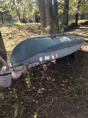 Sear 12ft Aluminum Boat for Sale in Pemberton, NJ