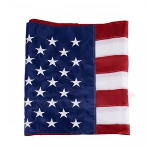 B49- 3' x 5' US American Embroidered Flag for Sale in Los Angeles, CA