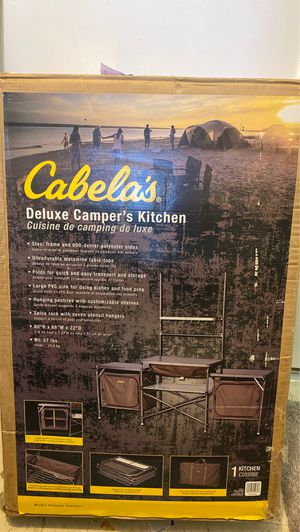 Never Used Cabela's deluxe camper's kitchen for Sale in Torrington, CT