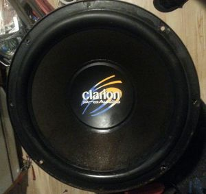 """Rare Clarion Pro Audio 12"""" DVC 500 Watt Subwoofer SRM3008 for Sale in Akron, OH"""