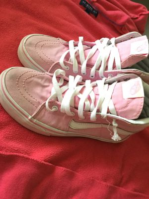 Pink and White vans for Sale in Perris, CA