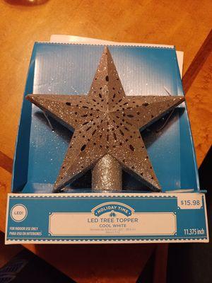 LED Christmas tree topper for Sale in Manassas, VA