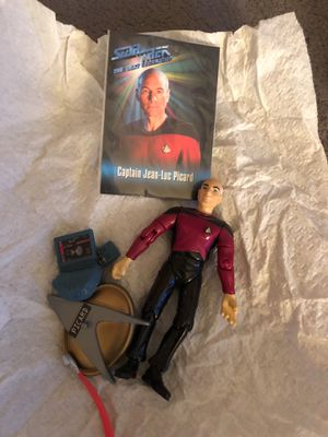 cFarlane Toys 4.1 out of 5 stars 19 Reviews McFarlane Toys Star Trek Captain Jean-Luc Picard Collectible Action Figure for Sale in Cape Coral, FL