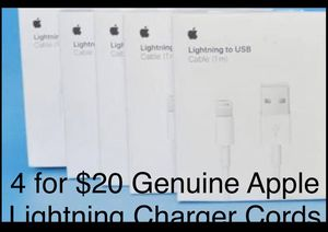 Apple Brand Lightning Charger Cords **Shipping for Sale in West Chicago, IL