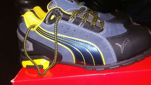 Puma mens steel toed boots Size 8 for Sale in Tampa, FL