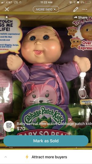 *NEW* interactive Cabbage patch doll for Sale for sale  Old Bridge Township, NJ