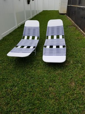 Set of 2 Lounges for Sale in Fort Lauderdale, FL