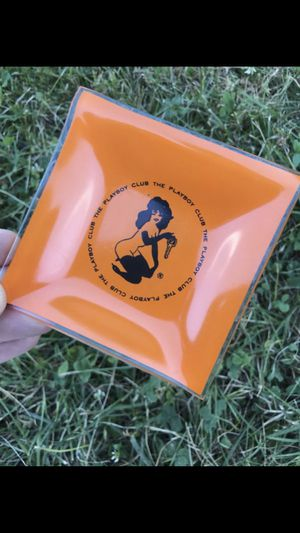 New collectible glass plate playboy club please check my other items for sale for Sale in Linden, NJ