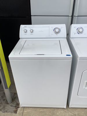 Washer Dryer Combo White Quality Whirlpool Pre Owen Appliance for Sale in Tampa, FL
