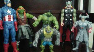 Boys action hero toys!! for Sale in Sacramento, CA