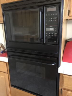 "GE 27"" wall oven/microwave combo for Sale in Chantilly, VA"