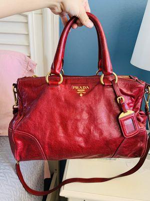 🌸PRADA Rubino Vitello Shine Shopping Tote Bag for Sale in Pompano Beach, FL