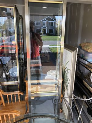 Curio cabinets/shelving three-piece for Sale in Lancaster, NY