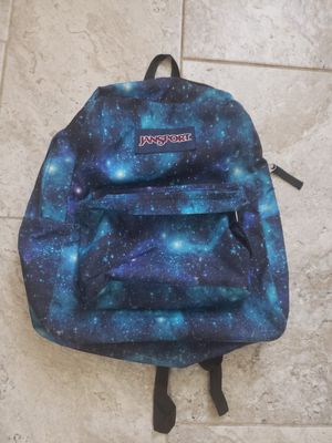 Jansport Star Dust Blue Backpack. Mint. for Sale in Venice, FL
