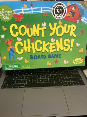 Count Your Chickens! Kid Board Game for Sale in Capitol Heights, MD