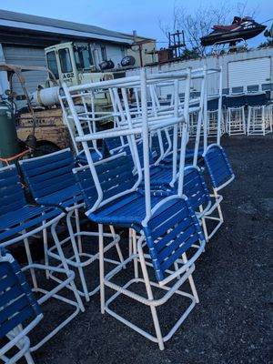 """(25) Outdoor Bar Pub Counter 29"""" stool/chairs for Sale in Batsto, NJ"""