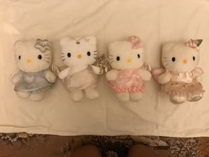 Angel Hello Kitty plushies ($17 for set) for Sale in Jacksonville, FL