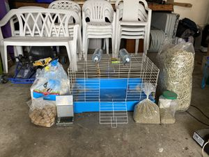 Rabbit cage & supplies for Sale in Covina, CA