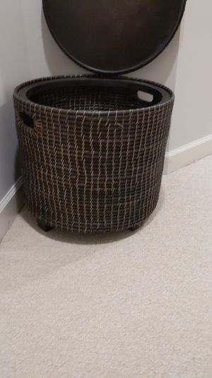 Large Wicker Basket Storage for Sale in Fairfax, VA