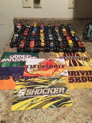Toy monster trucks for Sale in Billings, MT