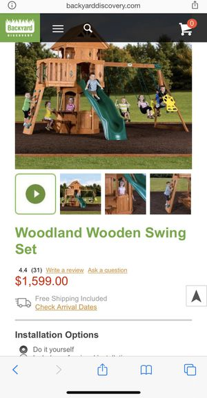 Playground swing set for Sale in North Las Vegas, NV