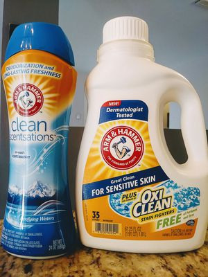 Arm & Hammer Laundry Set 👕 for Sale in Miami, FL