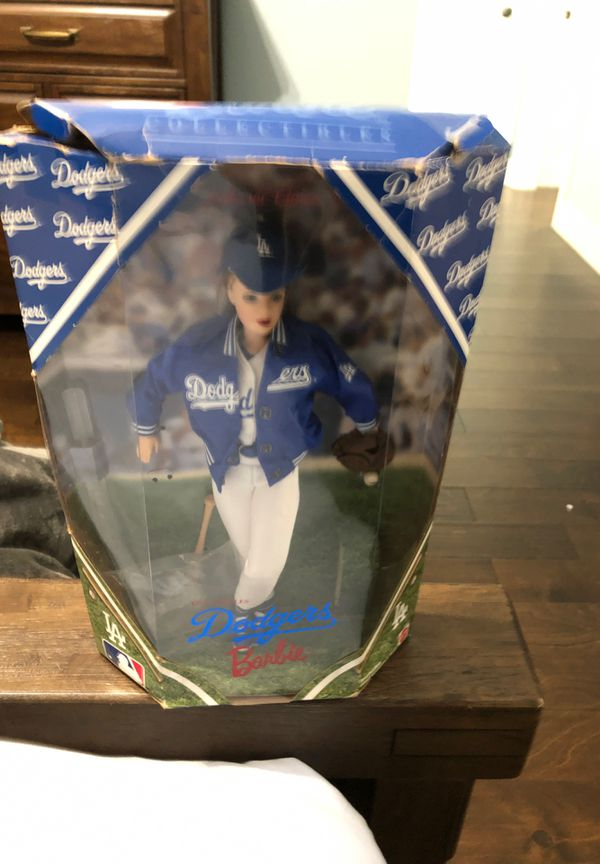 Collectible Dodgers Barbie