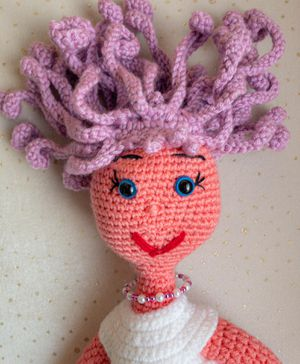 Crochet Girl, Crochet Doll, Amigurumi Girl, Amigurumi Doll, Handmade Doll, Princess Toy, Gift for Mom, Gift for Toddler for Sale in Burlington, MA