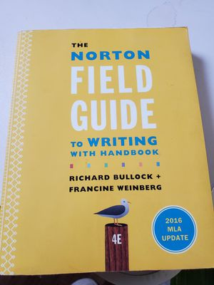 Norton field guide text book for Sale in Columbus, OH