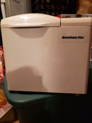 Breadman Plus bread maker for Sale in Union, NJ