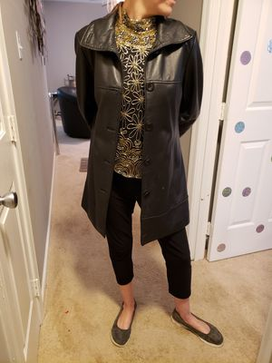 Pelle Leather 3/4 Length Jacket for Sale in Midlothian, VA