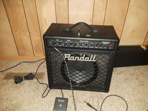 Randal RG80 and schecter guitar for Sale in Joplin, MO