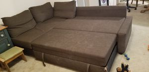 Ikea couch/ queen bed for Sale in Hillsboro, OR